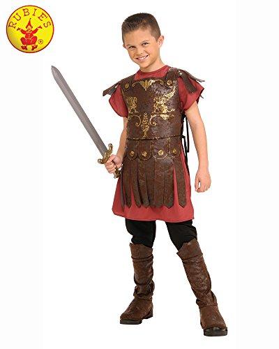 Rubie 's offizielles römisches Gladiatorenkostüm für Jungen, ausgefallenes Kostüm, historisches Kostüm, für Kinder, Mehrfarbig, Alter 3-4 Jahre (Masquerade Kostüm Für Jungen)