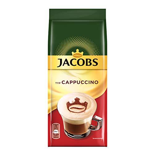Jacobs Cappuccino, 10er Pack Kaffeespezialitäten, 10 x 400 g im Nachfüllbeutel