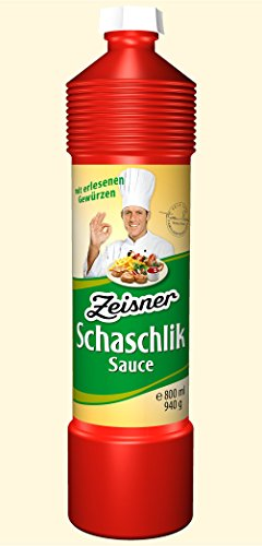 Zeisner Schaschlik Sauce 800ml Flasche