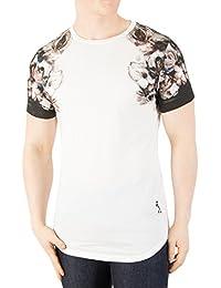 Religion Men's Wild Night Drop Shoulder Print Tee T-Shirt