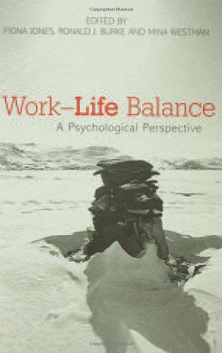 Work-Life Balance: A Psychological Perspective