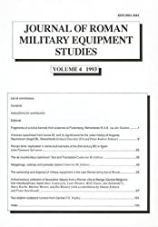 [(Journal of Roman Military Equipment Studies: Vol 4)] [Edited by M. C. Bishop] published on (December, 1995)