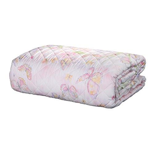 Bettdecke Doppelbett Maè by Via Roma, 60Nuage Pink Baumwolle Perkal 260x 270cm (Baumwolle Perkal Bettdecke)