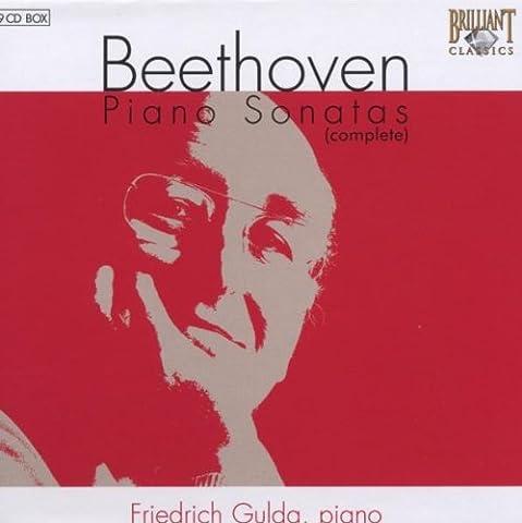 Beethoven : Intégrale des 32 Sonates pour Piano (Coffret 9 CD) [Import anglais]
