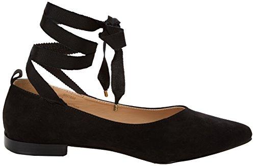 New Look Kacey Ballerine da Donna Nero (Black)