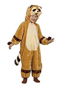 Ciao Fiori Paolo-Animales del bosque disfraz peluche Baby Small (2-3 anni) marrón/beige
