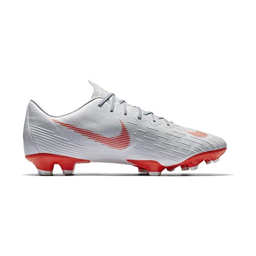 Nike Unisex-Erwachsene Mercurial Superfly VI AG-PRO Sneakers Mehrfarbig (Wolf Grey/Lt Crimson/Pure Platinum 001) 40 EU -