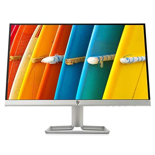 HP 22f 2XN58AA (21,5 Zoll / Full HD IPS) Monitor (HDMI, VGA, AMD FreeSync, 1920 x 1080 Pixel bei 60Hz, 5ms Reaktionszeit) schwarz/silber