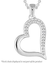 Peora The Elianna Heart Pendant For Women
