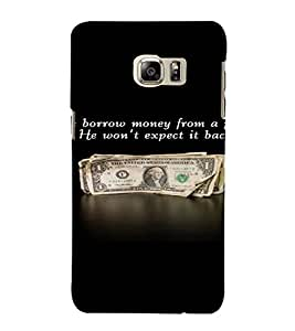 PrintVisa Funny And Witty Quote 3D Hard Polycarbonate Designer Back Case Cover for Samsung Galaxy S6 Edge+ Plus