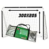 USG CBL701C But de Football Mixte Enfant, Blanc, 300 x 205 cm