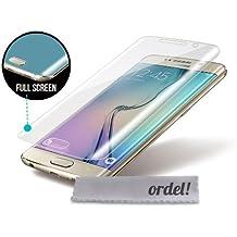 ORDEL® Protector de pantalla curvado para Samsung Galaxy S6 EDGE y S6 EDGE + PLUS (Samsung S6 EDGE)