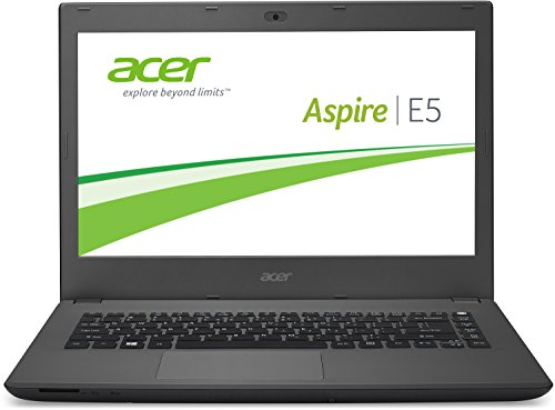 Acer Aspire E5-473-536Y 35,6 cm (14,0 Zoll Full HD) Laptop (Intel Core i5-5200U, 8GB RAM, 500GB SSHD, Intel HD Graphics 5500, DVD, Windows 10 Home) schwarz (Acer Aspire I5 14)