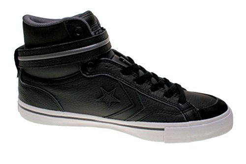 Converse Pro Blaz Plus, Sneakers Hautes mixte adulte Black/Thunder/Mouse