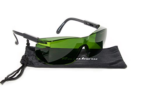 IPL/HPL-Schutzbrille 190-1800nm, Shade 4+/Rainbow® IPL1/Neoprene Brillenband