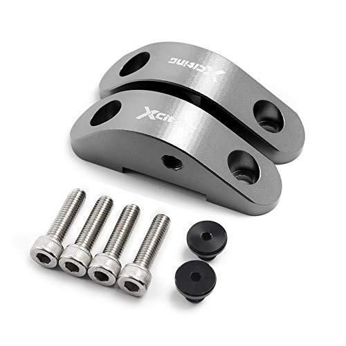 CNC Aluminio Del Billete Motocicleta Moto Espejo Elevadores Extensores Para KYMCO NIKITA...