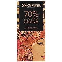 Chocolate Amatller - Tableta de chocolate (70% cacao Ghana) - 30 tabletas de 70 gr. (Total 2100 gr.)