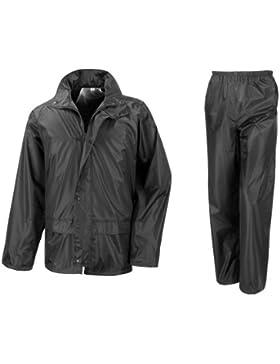 Result - Traje Impermeable /Conjunto Impermeable / chubasquero 2 piezas (conjunto chaqueta y pantalón)