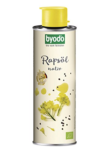 Byodo Bio Rapsöl, nativ - in der Dose 0,25 l (1 x 250 ml)
