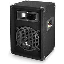 "Auna PW-0822 Sonido Profesional DJ Altavoz 20cm (8"") 3 vías 300W"