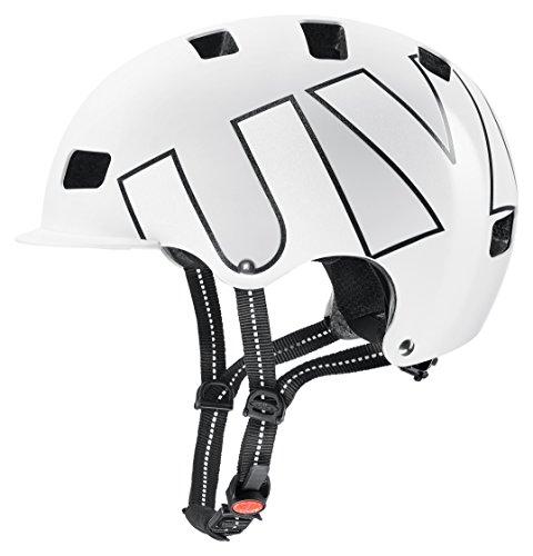 Uvex HLMT 5 Bike Pro BMX Dirt Fahrrad Helm weiß/schwarz 2018: Größe: 58-61cm -