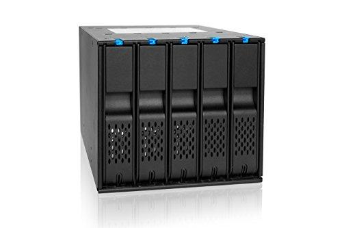 "Preisvergleich Produktbild 'ICY DOCK MB975SP R1HDD Enclosure 3.5""Black HDD/SSD Enclosure–HDD/SSD ENCLOSURES (3.5, Serial ATA III, HDD, HDD Enclosure, Black, HDD, Power)"