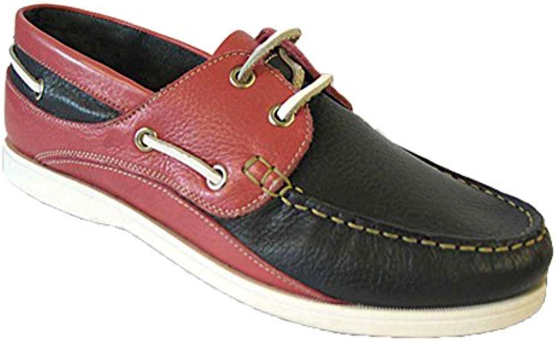 Pour En Nubuck Bateau Taille Femme Multicolore Seafarer Chaussures ZTqzx6xf