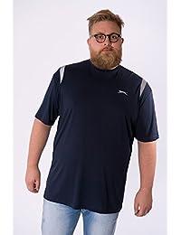 Slazenger - T-shirt TRAIL marine - Slazenger grande taille homme - Bleu