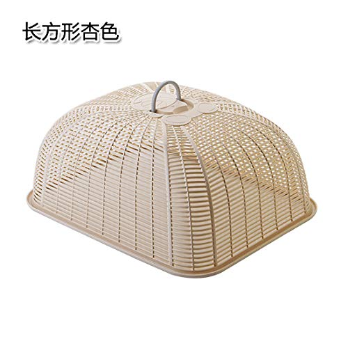BBDQX Excellent shelter, rectangular anti fly cover, plastic household kitchen table cover,...