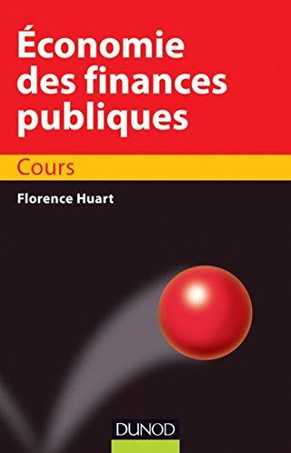 Economie des finances publiques : Cours (co Sup)