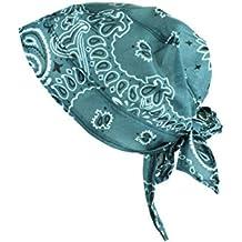 rosa Alex Flittner Designs Stirnband//Schwei/ßband im Bandana Paisley Design mit Gummizug in schwarz rot wei/ß royal Navy
