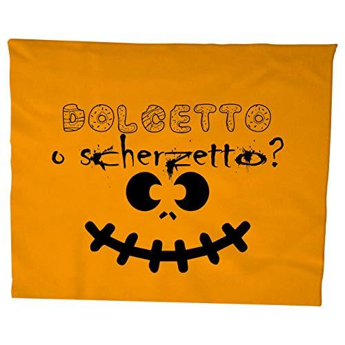 (My Custom Style Handtuch/Strandtuch Kollektion: #Halloween_A# Cotone 100x50 Halloween-dolcetto Scherzetto)