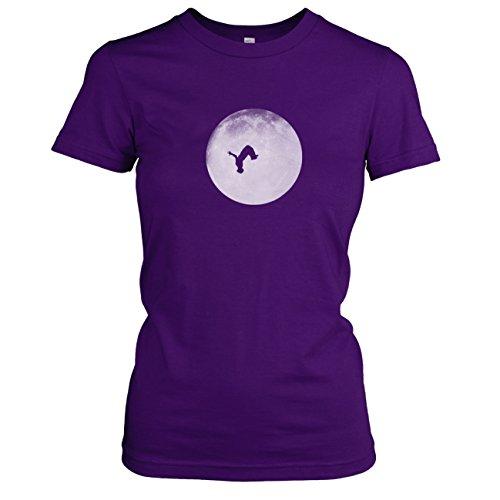 TEXLAB - Full Moon Parkour - Damen T-Shirt Violett