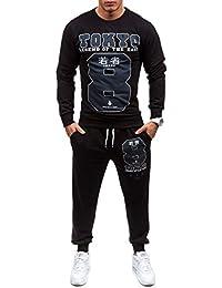 BOLF – Sweatshirt de sport – Pantalons de sport – Survêtement – MADMEXT 1215 – Homme