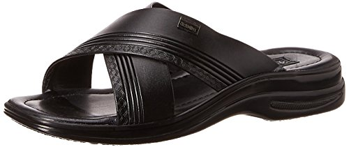 Action Shoes Men's Black Sandals and Floaters - 8 UK/India (42 EU)(3305)
