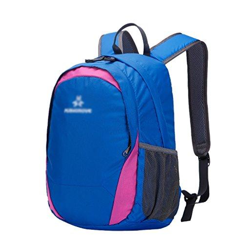 HWLXBB Outdoor Bergsteigen Tasche und Frauen 15L Wasserdichte Mehrzweck-Bergsteigen Tasche Wandern Camping Bergsteigen Freizeit Rucksack Rucksack 1*