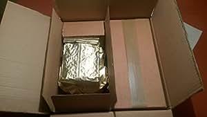 Masterbox 8 kg sortenreiner Dinkel | Urdinkel Saatgut - Ebners Rotkorn Triticum spelta - Krisenvorsorge Notvorrat Unbehandeltes Dinkel Saatgut aus biologischem Landbau
