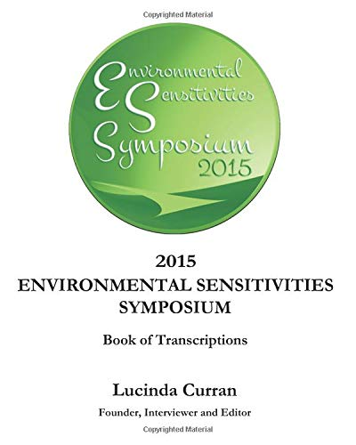 2015 Environmental Sensitivities Symposium: Book of Transcriptions (Dr. John Coleman)