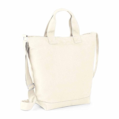 Bag Base Sac toile en coton shopping plage BG673
