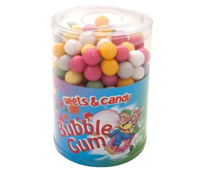 Lecker-süße Kaugummi Kugeln in der 500g Dose von Sweets & Candy