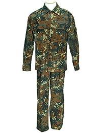 Champ Combinaison après TL Champ de la Bundeswehr Chemisier + Champ Pantalon Camouflage en différentes couleurs