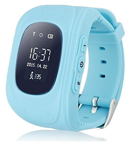 Samsung Rex 80 S5222R Compatible Q50 Smart Watch Children Kids Baby GPS Tracker Satellite Monitor SOS / Emergency Call / Child Safty Function / Remote monitoring / Two-way conversation / Pedometer / GPS for All Smart , Android, IOS Phones By MOBIMINT  available at amazon for Rs.2499