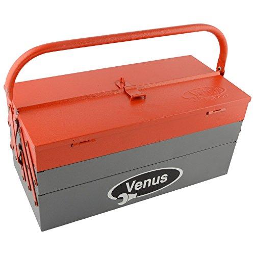 Venus Metal Tool Box (Red, Size-14 X 6 X 4...