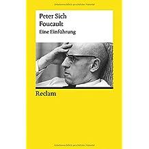 Foucault: Eine Einführung (Reclams Universal-Bibliothek)