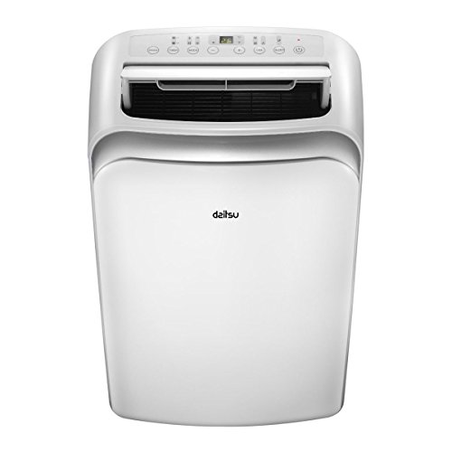 DAITSU Electric APD9-CRV2 64dB Color blanco - aire acondicionado portátil (A, 1,01...