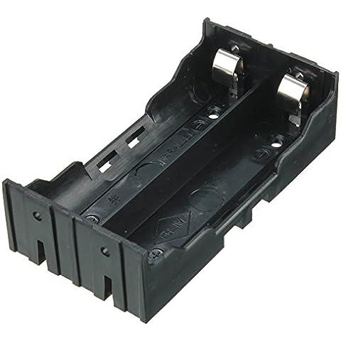 Caso Holder fai da te scatola per il 2 x 18650 batteria ricaricabile - Scatola Caso Holder