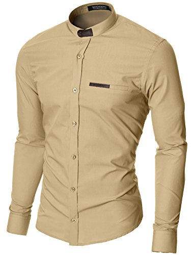 moderno-col-mao-manches-longues-chemise-homme-beige-eu-l