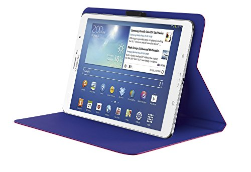 "custodia tablet 8 pollici Trust Custodia Universale Aeroo con Supporto per Tablets da 7""-8"""