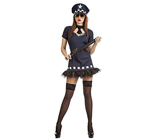 Imagen de disfraz de policía tutú para mujer