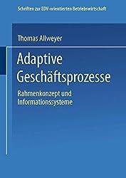Adaptive Geschäftsprozesse: Rahmenkonzept Und Informationssysteme (Schriften zur EDV-orientierten Betriebswirtschaft)